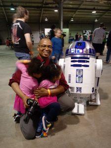 Meeting R2-D2 at Maker X